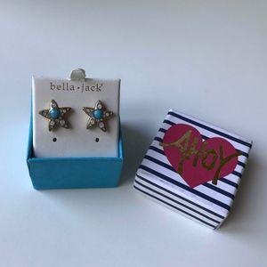 Bella Jack Starfish earrings